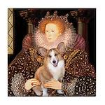 The Queen's Corgi Tile Coaster