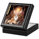 The Queen's Corgi Keepsake Box