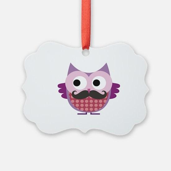 Cute Mustache Ornament