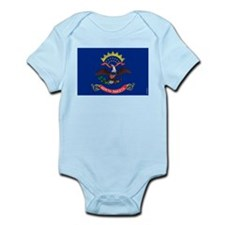 North Dakota State Flag Infant Bodysuit