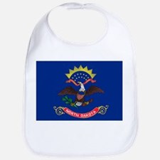 North Dakota State Flag Bib