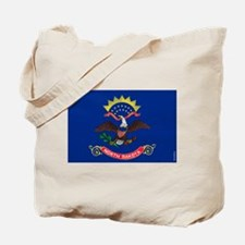 North Dakota State Flag Tote Bag