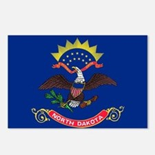 North Dakota State Flag Postcards (Package of 8)