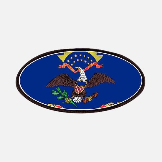 North Dakota State Flag Patch