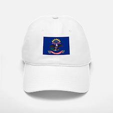 North Dakota State Flag Baseball Baseball Cap