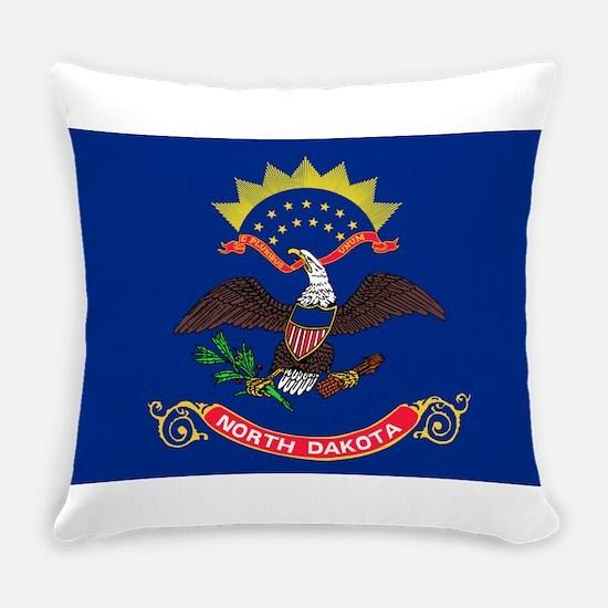 North Dakota State Flag Everyday Pillow