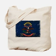 North Dakota State Flag VINTAGE Tote Bag