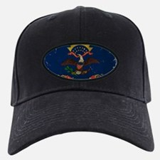 North Dakota State Flag VINTAGE Baseball Hat