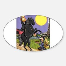 Headless Horseman pumkpin head Ichabod Crane Harve