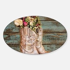 cowboy boot Decal
