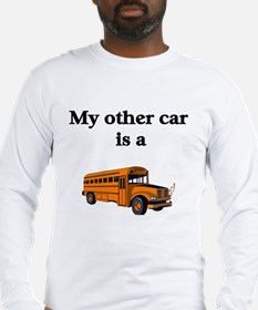 Cute Occupations bus driver Long Sleeve T-Shirt