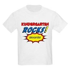 Kindergarten Rocks Custom T-Shirt
