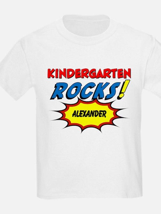 Kindergarten Rocks Custom T-Shirt