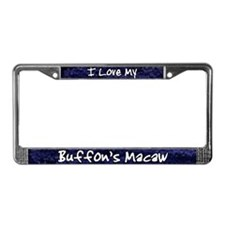 Funky Love Buffon's Macaw License Plate Frame