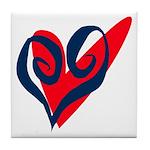 SWEET HEART Tile Coaster
