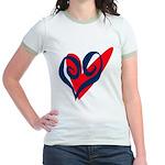 SWEET HEART Jr. Ringer T-shirt