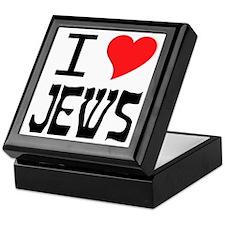 I Heart Jews Keepsake Box