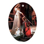 ACCOLADE / Corgi Ornament (Oval)
