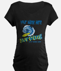 Surfing Maternity T-Shirt