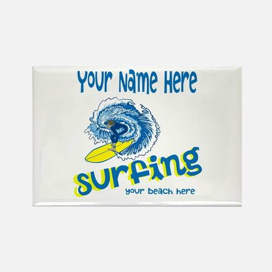 Surfing Magnets