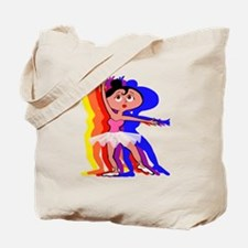 Cute Popular ballet dance Tote Bag
