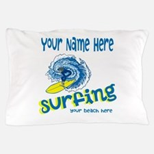 Surfing Pillow Case