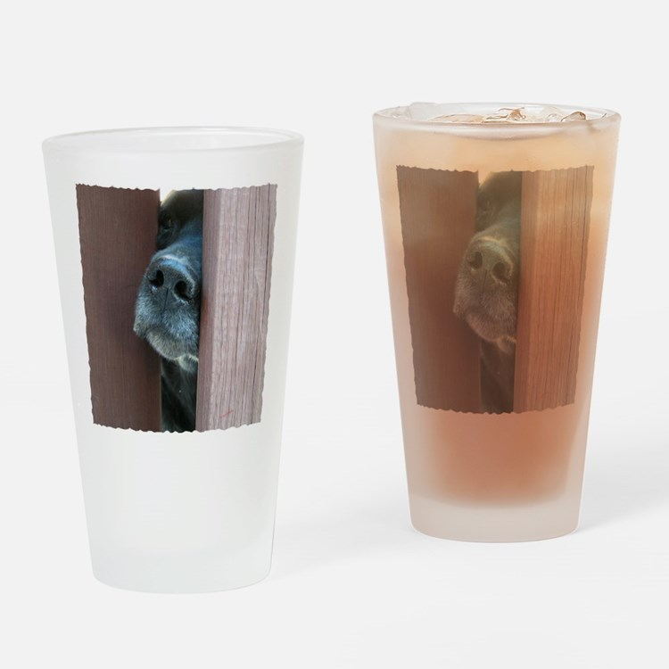 the nose knows Drinking Glass