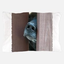 the nose knows Pillow Case