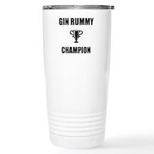 Funny Gin Travel Mug