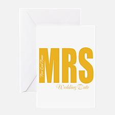 Fall Wedding Greeting Cards