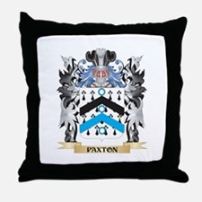 Paxton Coat of Arms - Family Crest Throw Pillow
