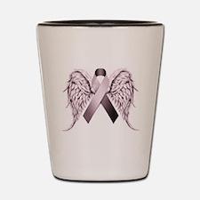 In Memory of - Purple Shot Glass