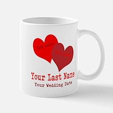 Wedding Hearts Mugs