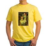 Ophelia's Yorkie (17) Yellow T-Shirt