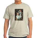 Ophelia's Yorkie (17) Light T-Shirt
