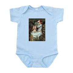Ophelia's Yorkie (17) Infant Bodysuit