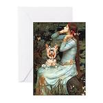 Ophelia's Yorkie (17) Greeting Cards (Pk of 10)