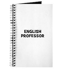 English Professor Journal