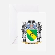 Pearce Coat of Arms - Family Crest Greeting Cards