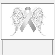 In Memory of - Silver Yard Sign