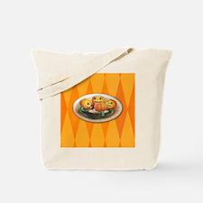 TLK006 Halloween Pumpkins Tote Bag