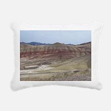 Painted Hills Rectangular Canvas Pillow
