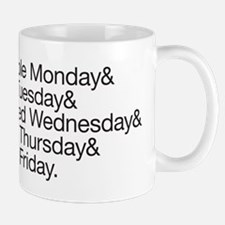 Pessimistic Week Mugs