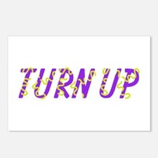 Turn Up Postcards (Package of 8)