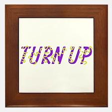 Turn Up Framed Tile