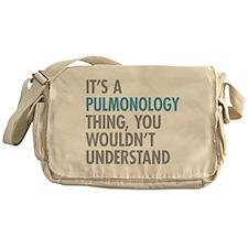 Pulmonology Thing Messenger Bag