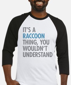 Raccoon Thing Baseball Jersey