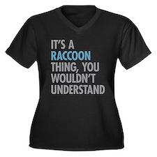 Raccoon Thing Plus Size T-Shirt
