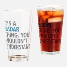 Radar Thing Drinking Glass