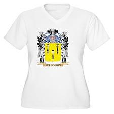 Pellegrin Coa Plus Size T-Shirt